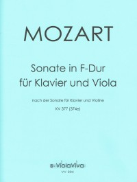VV 204 • MOZART - Sonate in F-dur